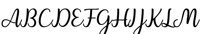 Charline Font UPPERCASE