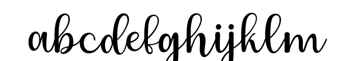 Charlize Font LOWERCASE
