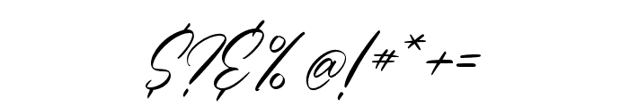 CharmelyaScript Font OTHER CHARS