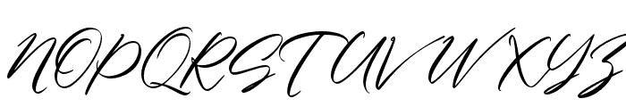 CharmelyaScript Font UPPERCASE