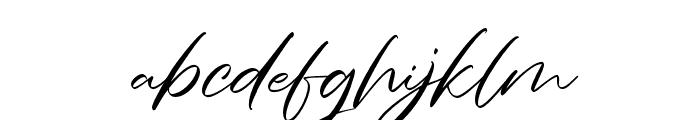 CharmelyaScript Font LOWERCASE