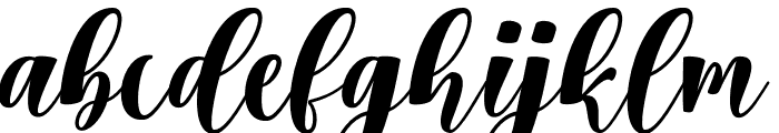 Chatting Font LOWERCASE