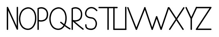 Cheeks Rosy Sans Font UPPERCASE