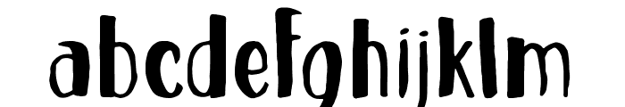 Cheesecake Font LOWERCASE