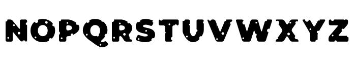 Cheeseman Love Display Font UPPERCASE