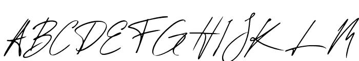 Chelsea Queen Italic Font UPPERCASE