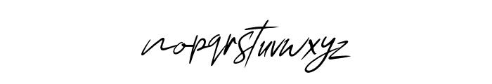 Chelsea Queen Italic Font LOWERCASE