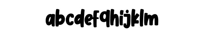 Cherry Blue Font LOWERCASE