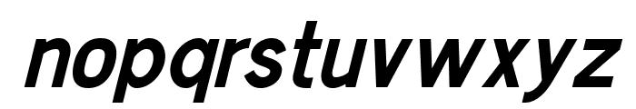 Chester Sans Bold Italic Font LOWERCASE