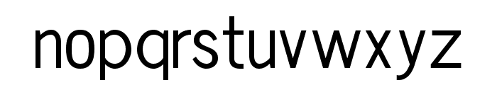 Chester Sans Book Font LOWERCASE