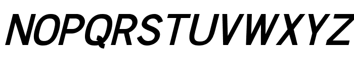 Chester Sans SemiBold Italic Font UPPERCASE