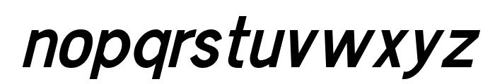Chester Sans SemiBold Italic Font LOWERCASE