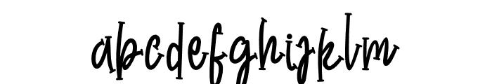 Chicken Kitchen Font LOWERCASE