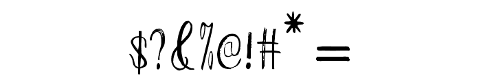 ChildrenScript Font OTHER CHARS