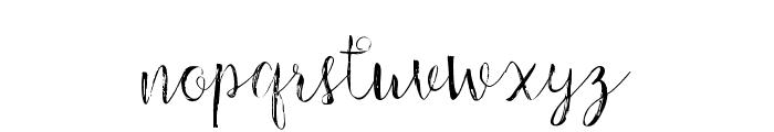 ChildrenScript Font LOWERCASE