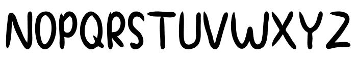 Chilli Chunks Font UPPERCASE
