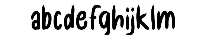 Chilli Chunks Font LOWERCASE