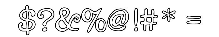 Chispa Font OTHER CHARS