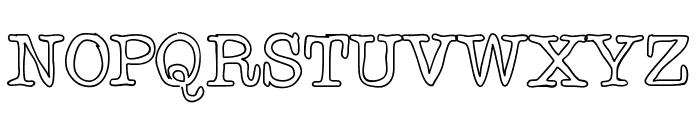 Chispa Font UPPERCASE