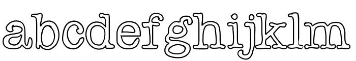 Chispa Font LOWERCASE