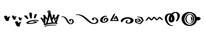 Choco Matcha Doodles Font UPPERCASE