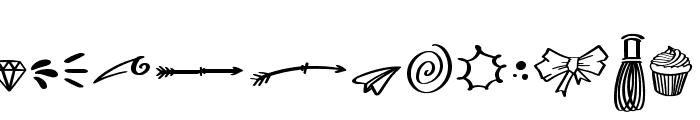Choco Matcha Doodles Font LOWERCASE