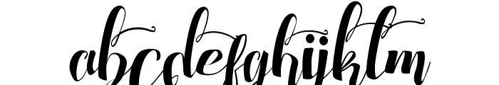 Chocolate Heart Love 2 Font LOWERCASE