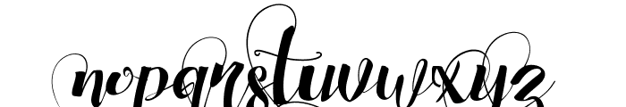 Chocolate Heart Love 4 Font LOWERCASE