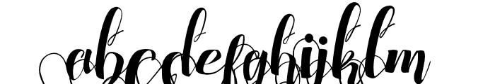 ChocolateHeartLoveUnder Font LOWERCASE