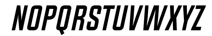 Chosence Bold Italic Font UPPERCASE