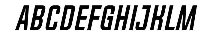 Chosence Bold Italic Font LOWERCASE