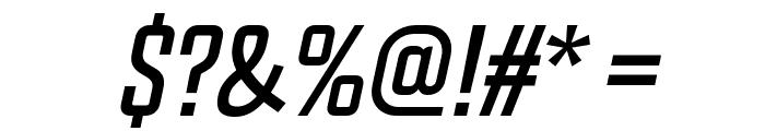 Chosence Italic Font OTHER CHARS
