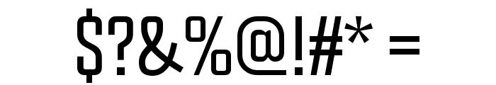 Chosence Light Font OTHER CHARS