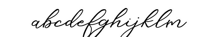 Christine Regular Font LOWERCASE