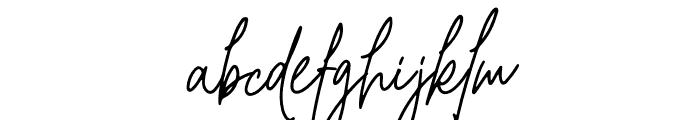 Christine Signature Font LOWERCASE