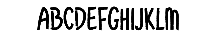 Christmas Background Font UPPERCASE