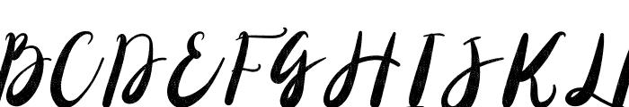 Christony Font UPPERCASE