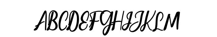 ChristopherScript Font UPPERCASE