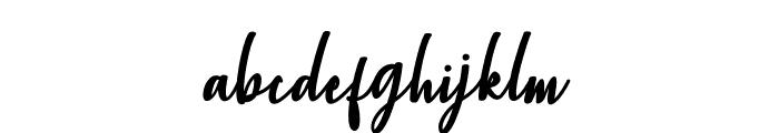 ChristopherScript Font LOWERCASE