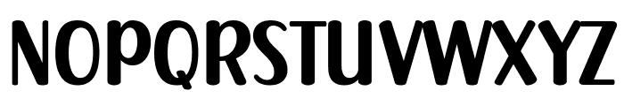 Chubby Gang Font UPPERCASE