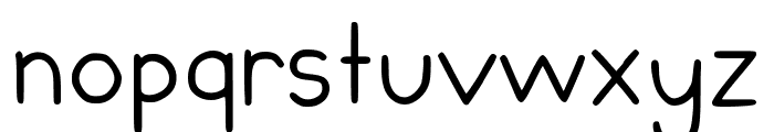 Chubby Regular Font LOWERCASE