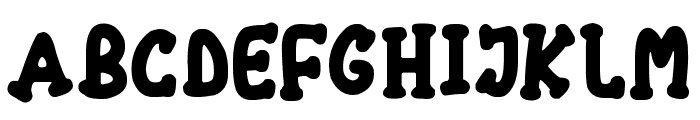 Chubby Font UPPERCASE