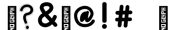 Chunky Monkey Font Regular Font OTHER CHARS