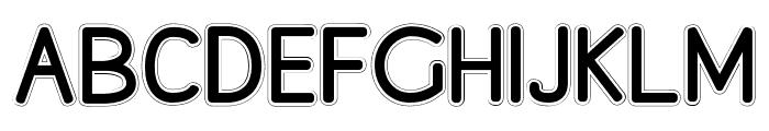 Chunky Monkey Font Regular Font UPPERCASE