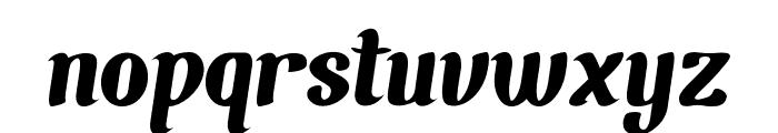Chunky Wally-Regular Font LOWERCASE