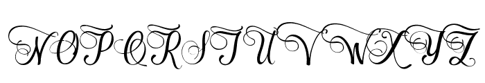 Cimochi Font UPPERCASE