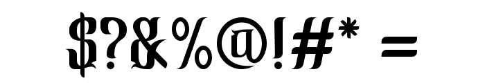 CindoKato-Regular Font OTHER CHARS