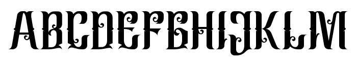 CindoKato-Regular Font UPPERCASE