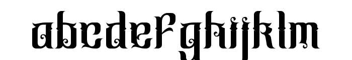 CindoKato-Regular Font LOWERCASE