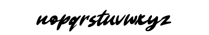 Clarkton Font LOWERCASE